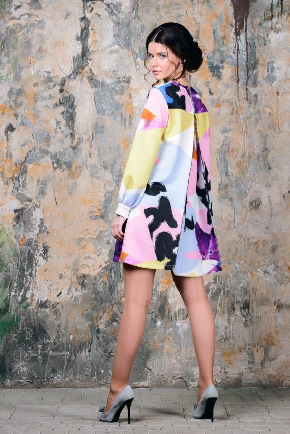 Платье неопреновое «Граффити»